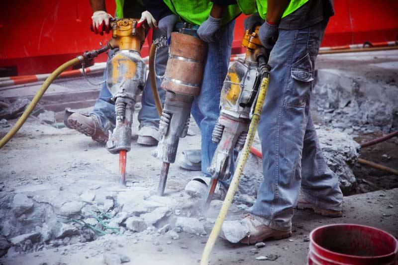 demolición martillos neumaticos
