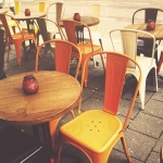 Terraza de bar, restaurante, pub. Licencia instalación terraza