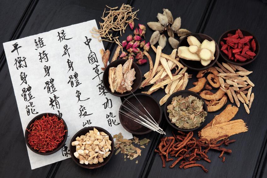 Utensilios de acupuntura