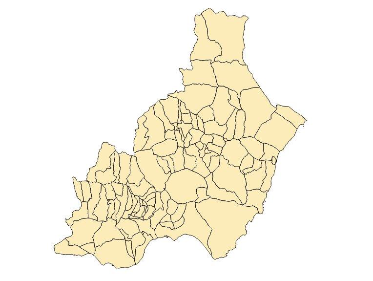 plano municipios almería