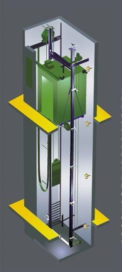 ascensor autoportante