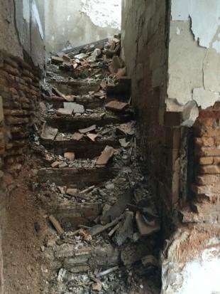 demolicion edificio ruinoso