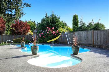 piscina finca
