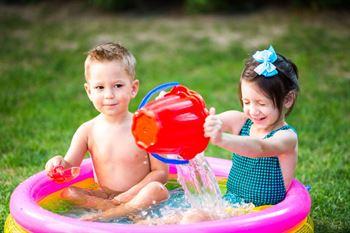 piscina niños