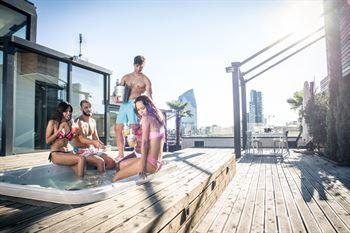 piscina en terraza o atico